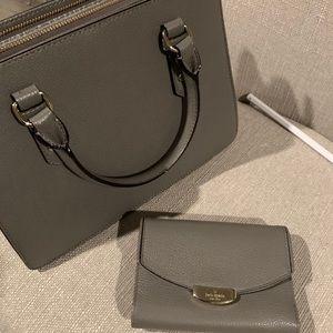 Kate spade handbag and wallet
